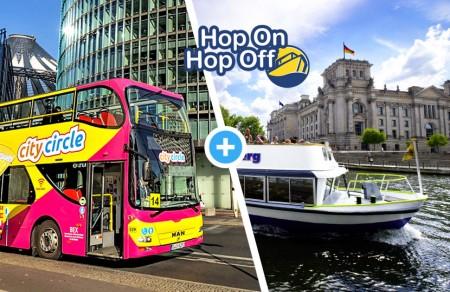 Hop-on Hop-off Stadt- & Spreerundfahrt 48 Std.