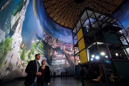 Panometer - Asisi Panorama: Dresden im Barock