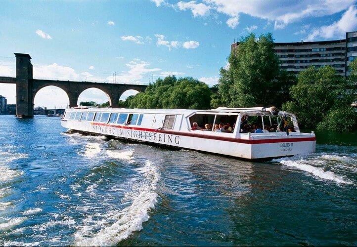 Brückentour mit Ausflugsschiff - Bild 3