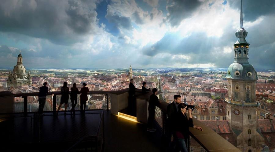 Panometer - Asisi Panorama: Dresden im Barock - Bild 5