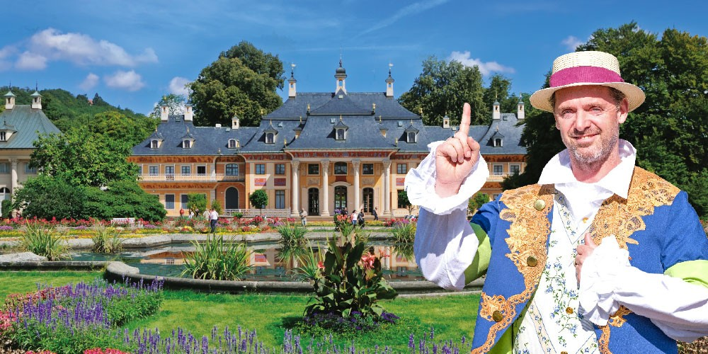 Ausflug Schloss Pillnitz - Der Gärtner des Maharadschas - Bild 1