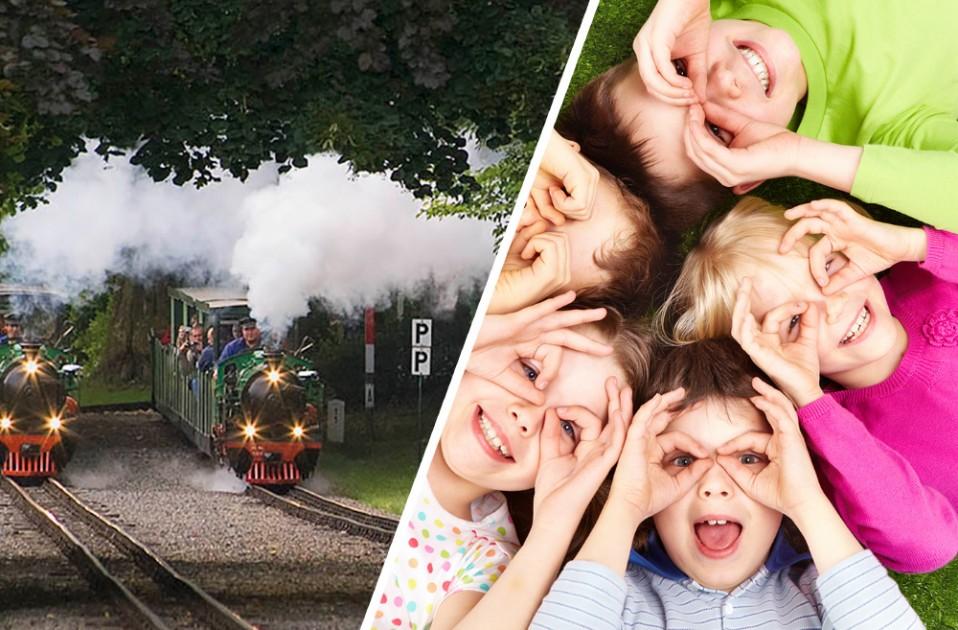 Coole & mobile Kidstour - Mit Doppeldecker, Eisenbahn & Känguru durch Dresden