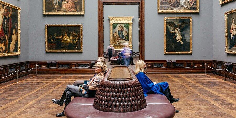 Blaue Stunde Gemäldegalerie Alte Meister - Bild 2