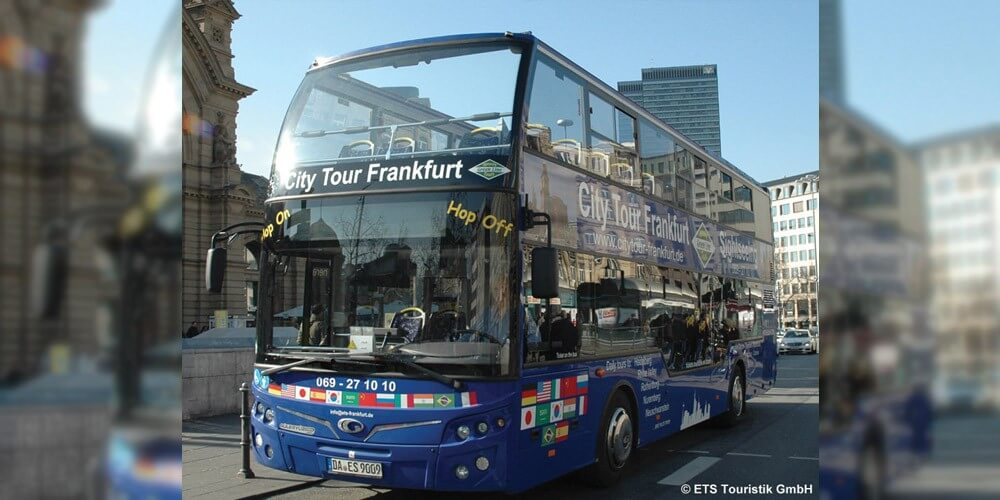 Rundfahrt + Führung durch Frankfurt - Bild 1