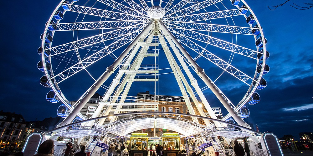 Wheel of Vision - Dresden per Riesenrad - Bild 1