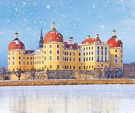 Romantischer Ausflug nach Moritzburg mit Eintritt ins Aschenbrödel-Schloss