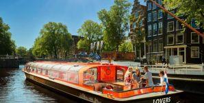 Grachtenfahrt - Amsterdam Zentrum - Bild 1