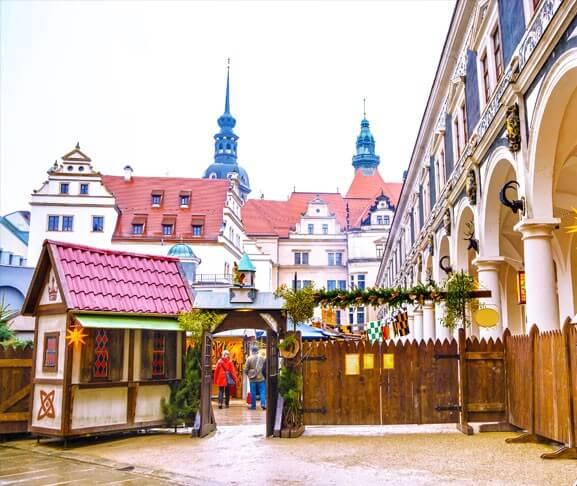 Mittelalterlicher Weihnachtsmarkt Dresden