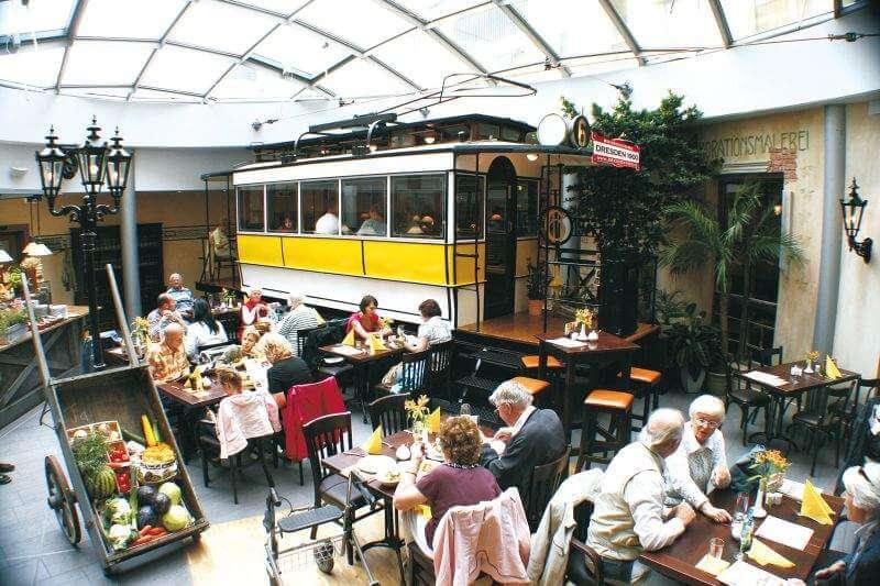 Cafe Neustadt Dresden Speisekarte