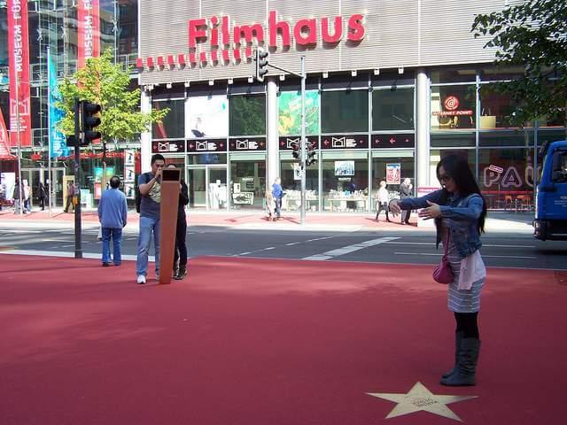 Boulevard der Stars