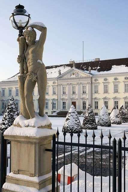 Schloss Bellevue, Bundespräsidialamt