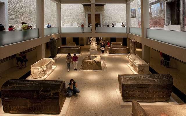 gyptisches Museum und Papyrussammlung im Neuen Museum
