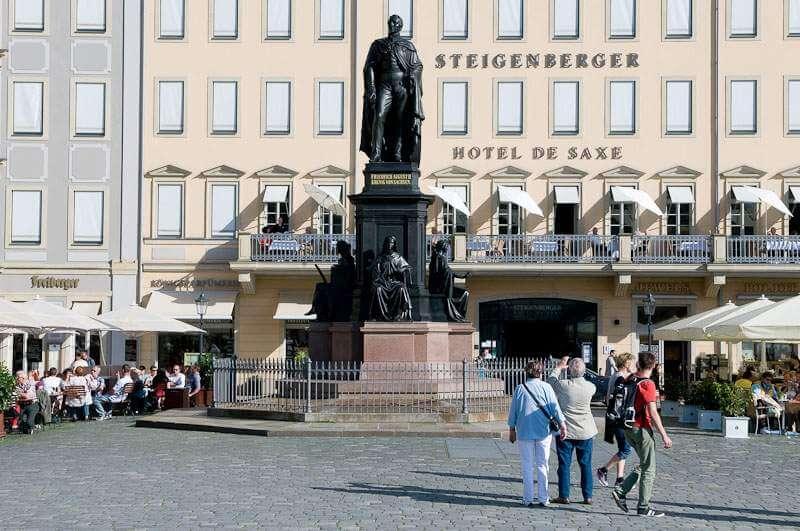 Denkmal König Friedrich August II.