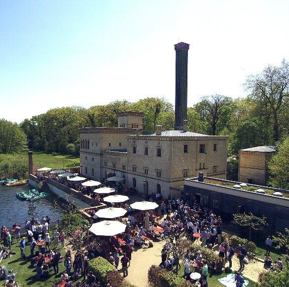 Meierei - Die Brauerei mit Biergarten