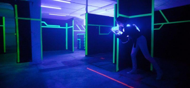 Berlin spielt Lasergame