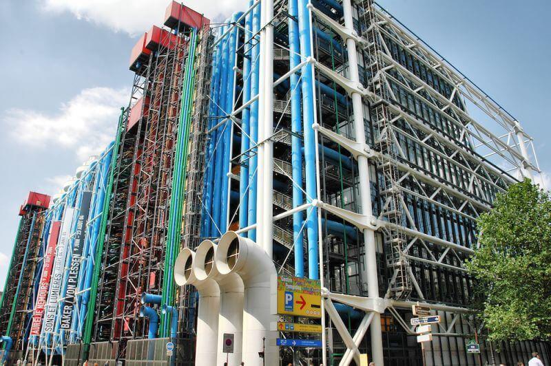 Sehensw rdigkeiten paris attraktionen erleben - Centre george pompidou architecture ...