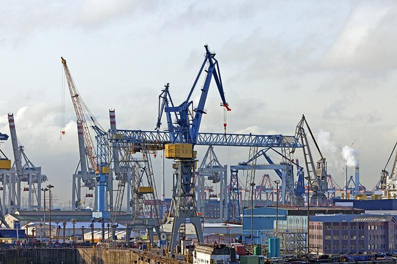 Europas drittgrößter Containerhafen
